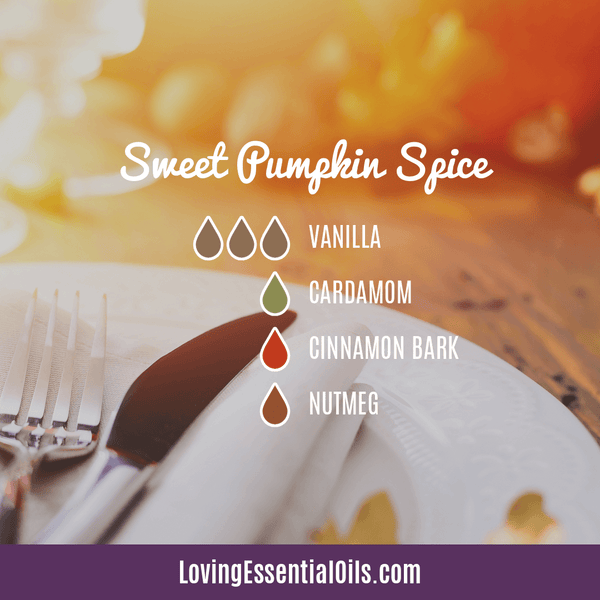 8 Pumpkin Spice Essential Oil Blends - Scent of the Season by Loving Essential Oils | Diffuser Blend with vanilla, cardamom, cinnamon bark, and nutmeg
