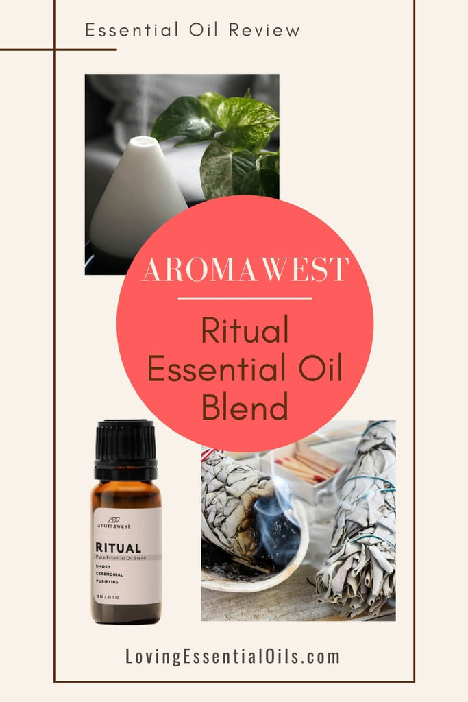 Ritual Essential Oil Recipe for Roller Bottle by Loving Essential Oils | Find out all about ritual blend from Aromawest in this aromatherapy review!