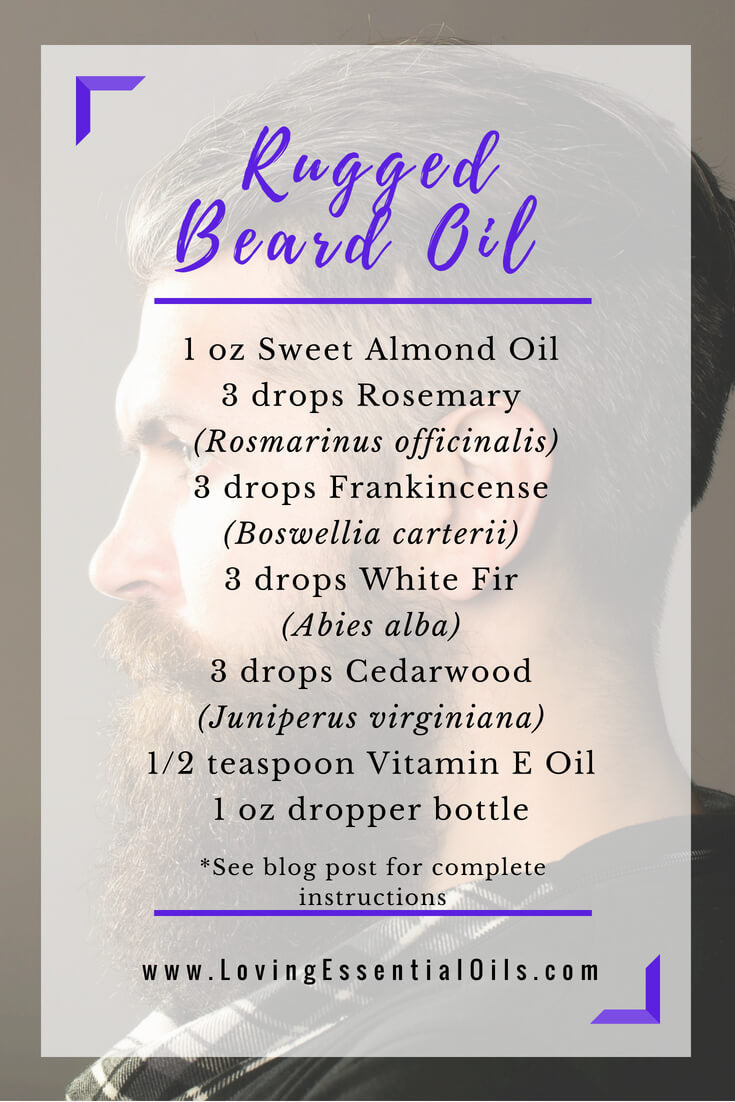 rugged beard oil recipe with essential oils