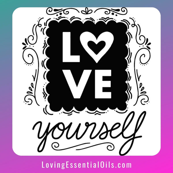 Self-love Journal Pages by Loving Essential Oils - Get our Journey to Self Love Guide now!