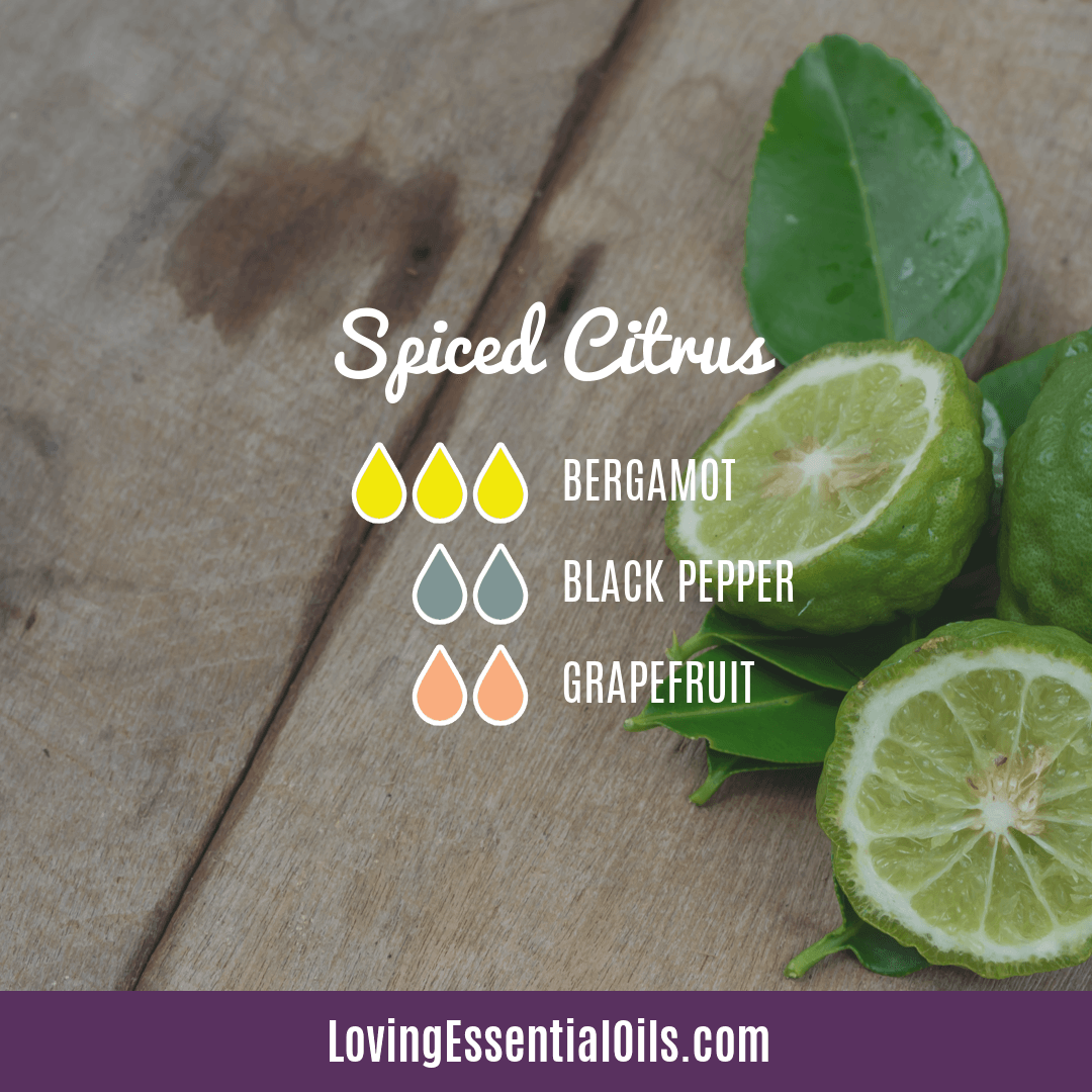 Spiced Citrus Diffuser Blend by Loving Essential Oils