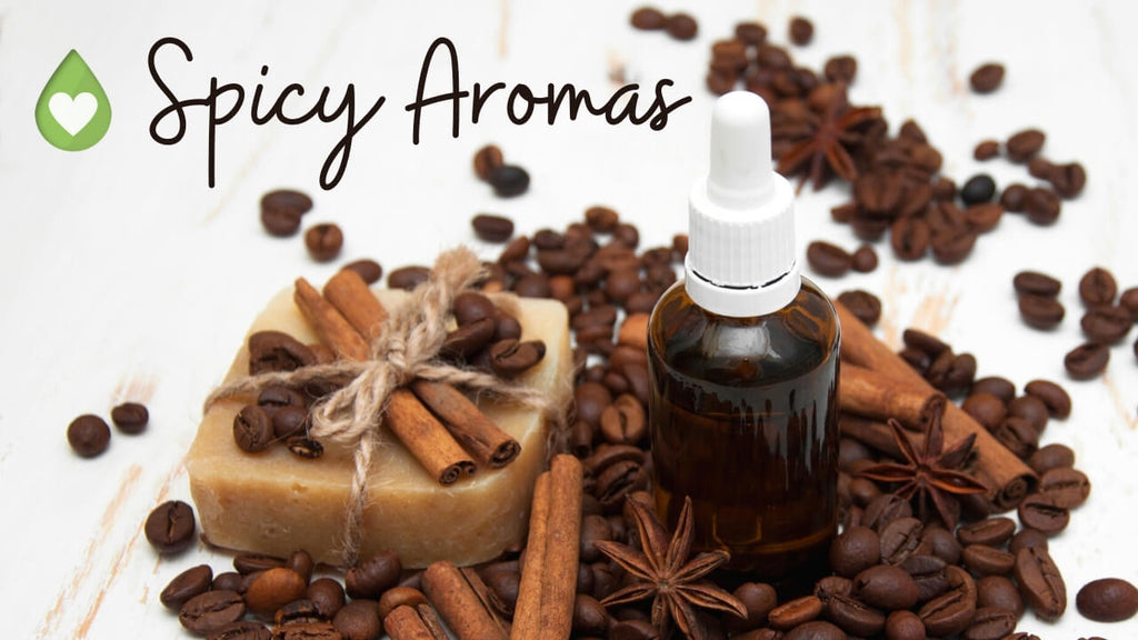 Spicy Aromas for Aromatherapy Blending by Loving Essential Oils