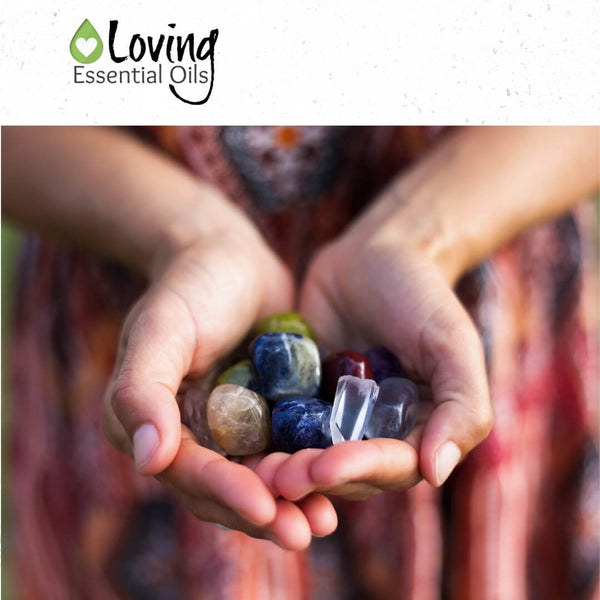 Spiritual meanings of crystals by Loving Essential Oils
