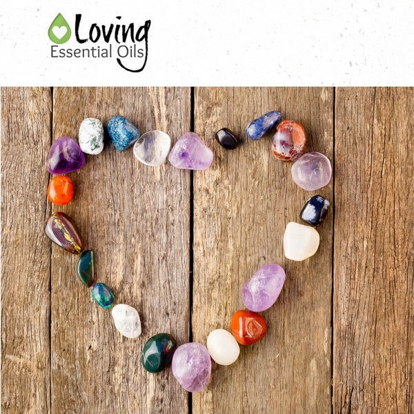 Spiritual meaning of gemstones by Loving Essential Oils