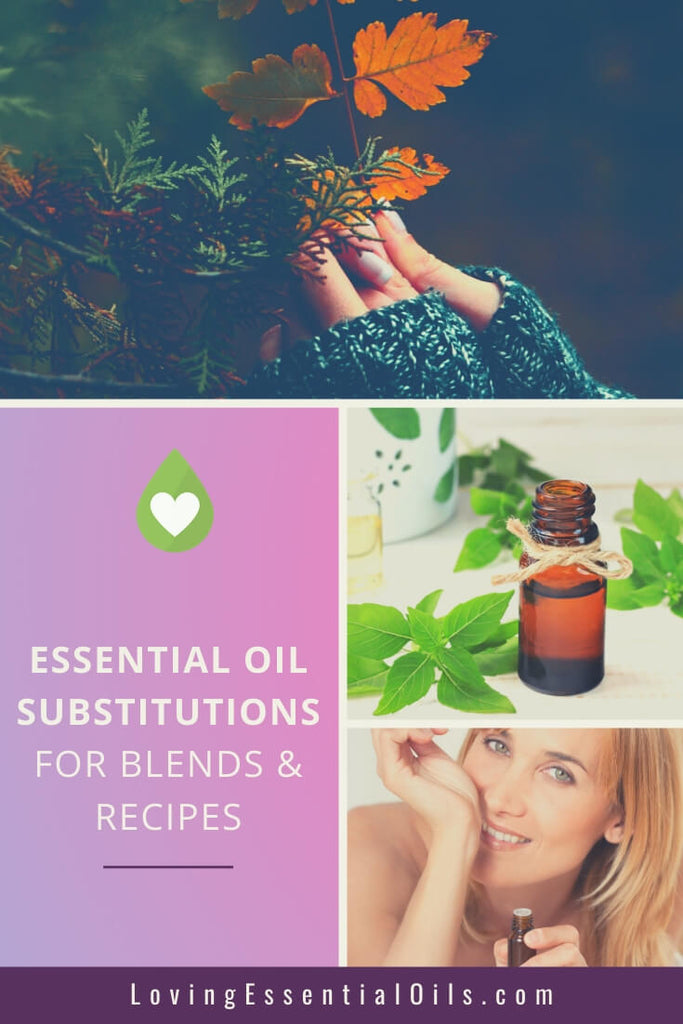 Substitute essential oils and how to use them properly