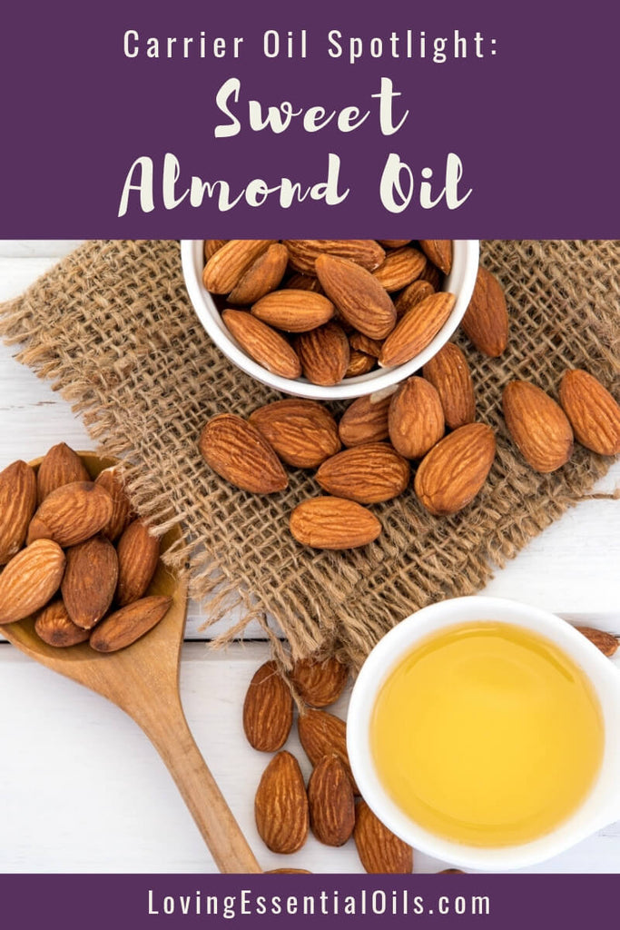 Sweet Almond Oil Uses & Benefits - Top Essential Oil Carrier Oil by Loving Essential Oils