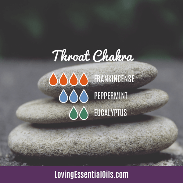 Throat Chakra Essential Oils - Express Your Authentic Voice by Loving Essential Oils | Throat Chakra Diffuser Blend