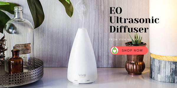 Ultrasonic Essential Oil Diffuser from Viva Naturals