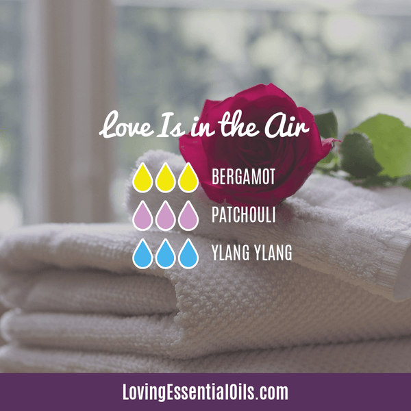 Love is in the Air Diffuser Blend by Loving Essential Oils