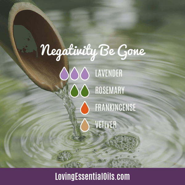 Vetiver Essential Oil Diffuser Blend - Negativity Be Gone - EO Spotlight by Loving Essential Oils