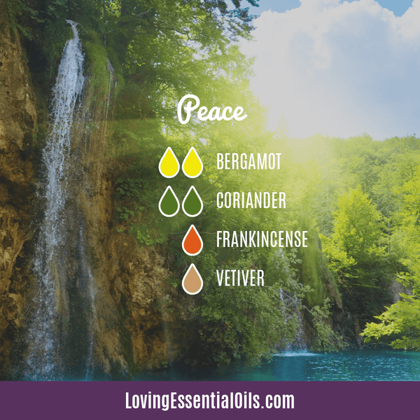 Vetiver Essential Oil Diffuser Blend - Peace - EO Spotlight by Loving Essential Oils