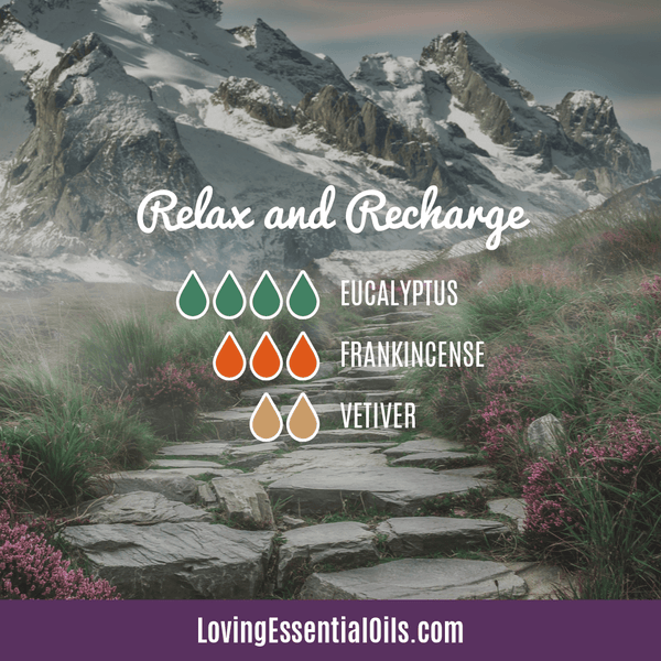 Vetiver Essential Oil Diffuser Blend - Relax and Recharge - EO Spotlight by Loving Essential Oils