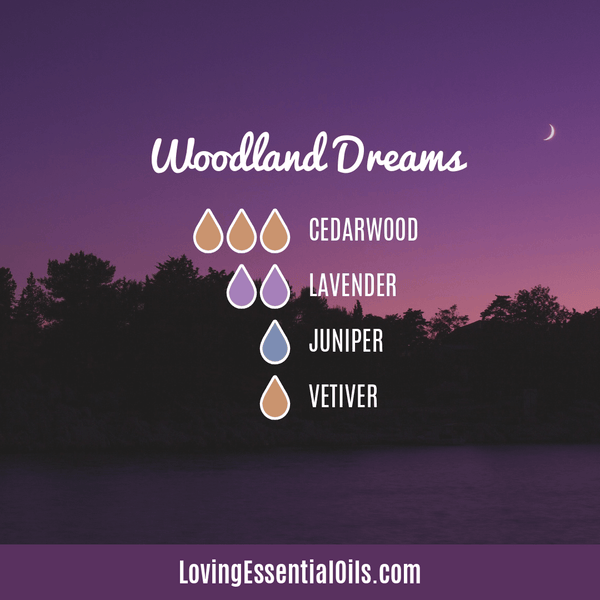 Vetiver Essential Oil Diffuser Blend - Woodland Dreams - EO Spotlight by Loving Essential Oils