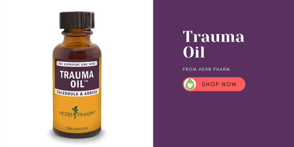 Where to buy trauma oil, how to use trauma oil, plus DIY recipe