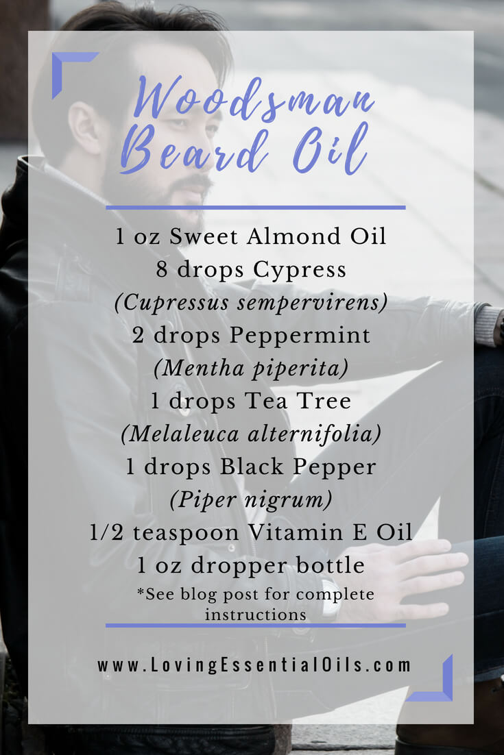 woodsman beard oil recipe with essential oils