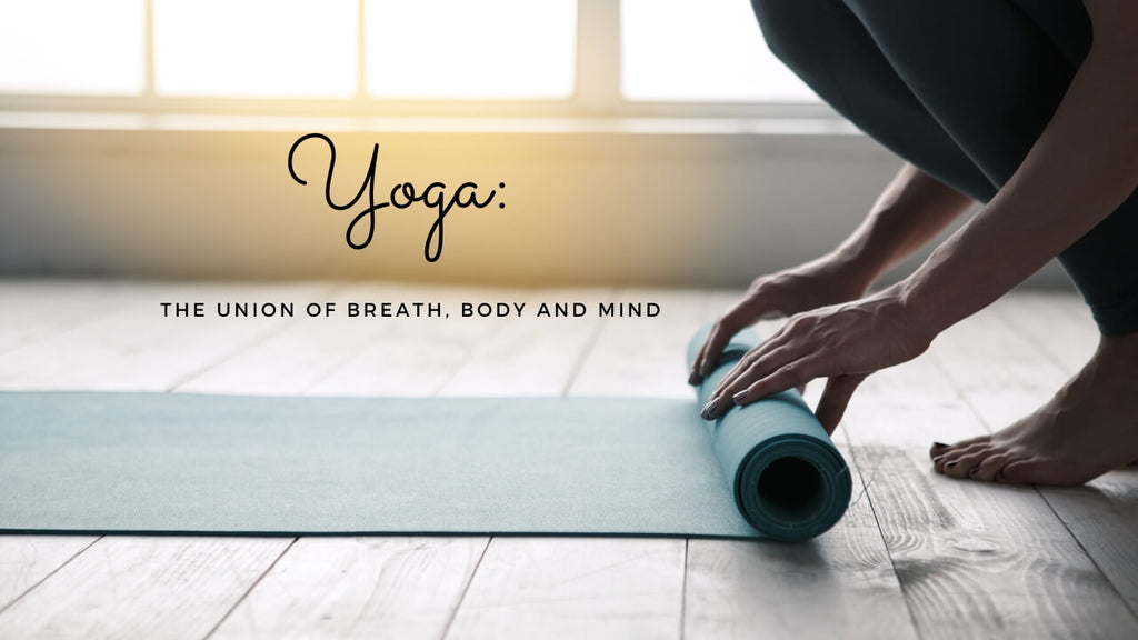 Yoga Meaning - The Union of Breath, Mind and Body by Loving Essential Oils