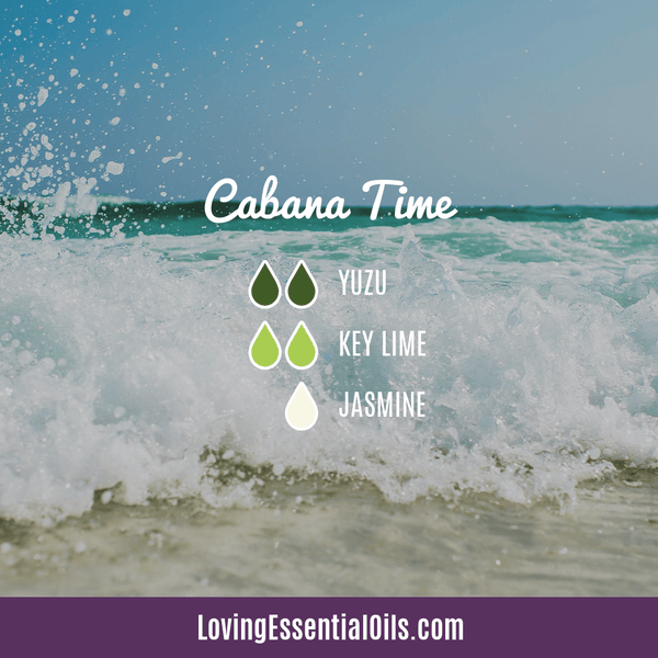 Yuzu Diffuser Blend - Cabana Time by Loving Essential Oils