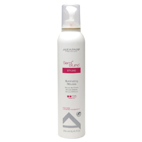 ALFAPARF SEMI Di LINO Illuminating Mousse 8.45 oz