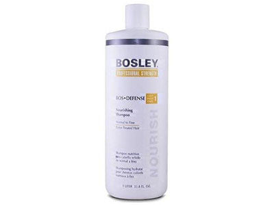 Bosley DEFENSE Color-Treated Nourishing Shampoo Liter