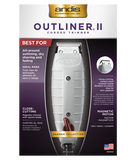 Andis Outliner II Square Blade Corded Trimmer