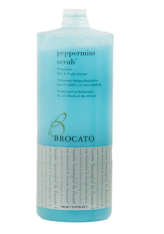 Brocato Peppermint Scrub Masque Liter
