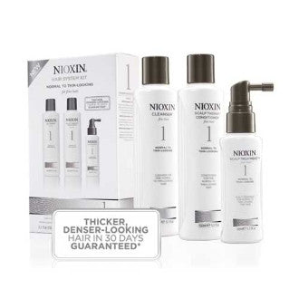 Nioxin System 1 Starter Kit for Natural, Normal To Thin-Looking Hair
