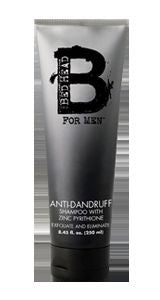 BedHead For Men Anti-Dandruff Shampoo with Zinc Pyrithione 8.45 oz