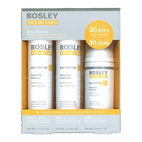 Bosley DEFENSE Color-Treated Starter Pack
