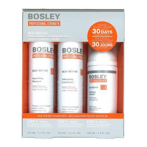 Bosley REVIVE Color-Treated Starter Pack