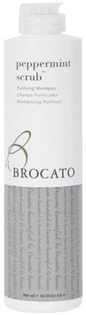 Brocato Peppermint Scrub Purifying Shampoo 10 oz