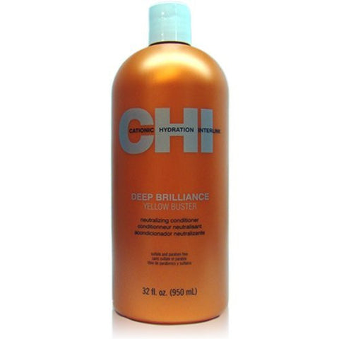 CHI Deep Brilliance Yellow Buster Neutralizing Conditioner 32 oz