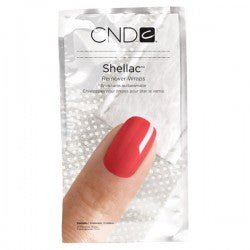 CND Creatives Nail Design Shellac Remover Wrap Pack 10-pk
