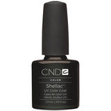 CND Creatives Nail Design Shellac UV Color Coat Black Pool 0.25 oz