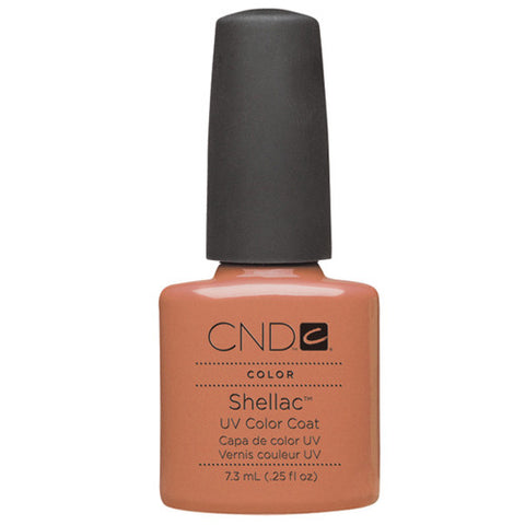 CND Creatives Nail Design Shellac UV Color Coat Cocoa 0.25 oz