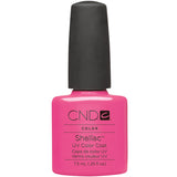 CND Creatives Nail Design Shellac UV Color Coat Hot Pop Pink 0.25 oz