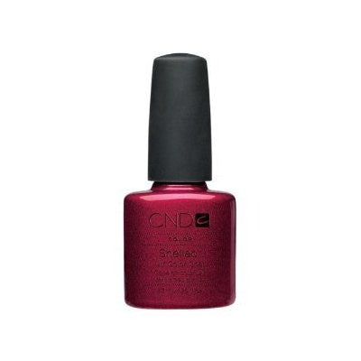 CND Creatives Nail Design Shellac UV Color Coat Red Baroness 0.25 oz