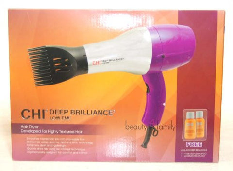 DEEP BRILLIANCE by CHI Low EMF Hair Dryer GFDB04