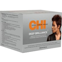 DEEP BRILLIANCE by CHI Sensitive Scalp No Lye Calcium Hydroxide Conditioning Relaxer Kit