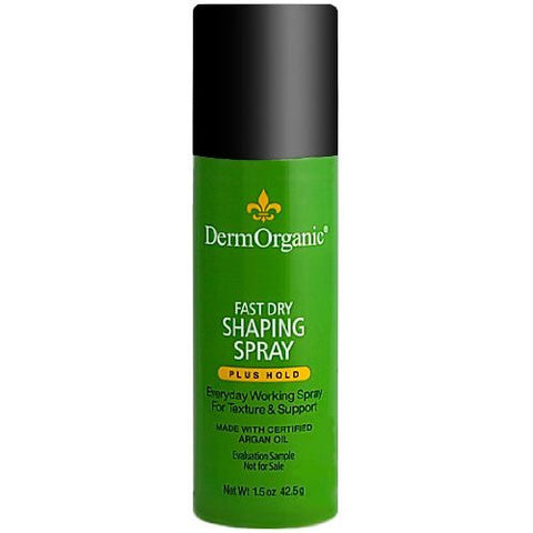 DermOrganic Fast Dry Shaping Spray 1.5 oz
