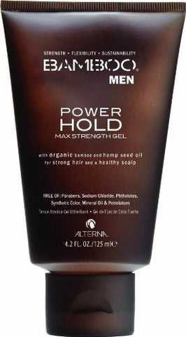 Alterna Bamboo Men Power Hold Max Strength Gel 4.2 oz