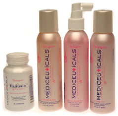 "THERAPRO by MEDIceuticals ""W"" Hair Follicle Support System Women's Chemically Processed Hair Formula"
