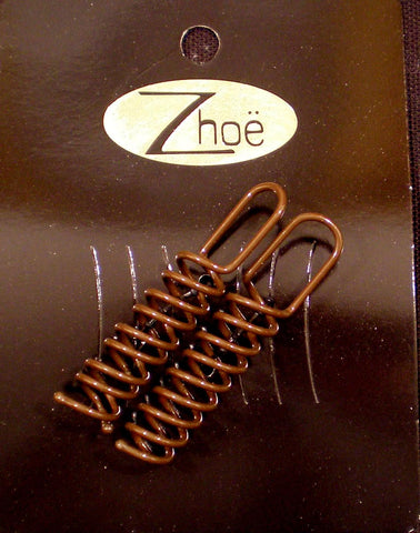 Zhoe Brown Hair Screws