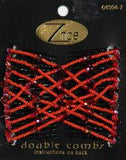 Zhoe Red Phone Double Combs Item #10131