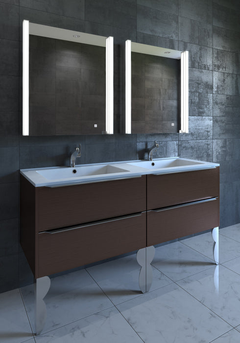 Illuminated cabinets modern bathroom mirrors Lighted Medicine Ella 21u2033 Contemporary Illuminated Led Bathroom Medicine Cabinet Mirror Luxe Modern Bath Luxe Modern Bath Ella 21u2033 Contemporary Illuminated Led Bathroom Medicine Cabinet