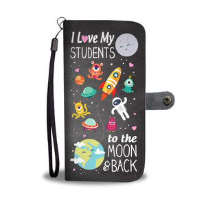 To the Moon and Back Teacher Wallet Case
