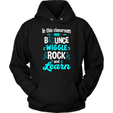We Bounce, Rock and Learn Teacher T-shirt