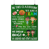 Sports Classroom Teacher Poster