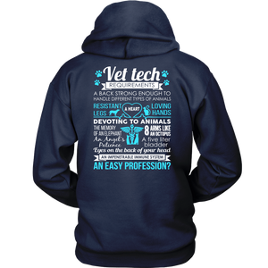 Vet Tech Requirements Vet Tech T-shirt