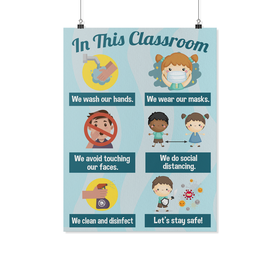 Hygiene Classroom Poster