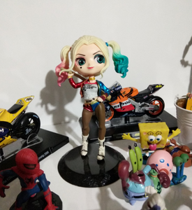 Wonder Woman Harley Quinn Superheroes Figures Toy